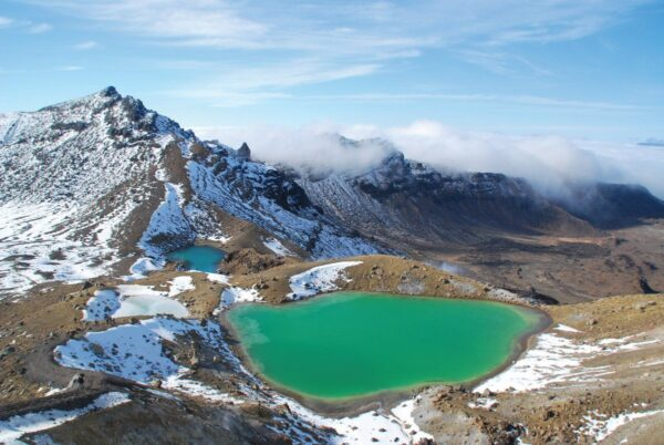 Nature in New Zealand - Lake Taupo and Tongariro National Park A Fascinating Area