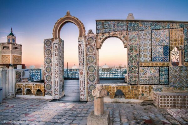 Tourist Attractions in Tunis - Medina of Tunis With Gate of France or Bab El Bhar