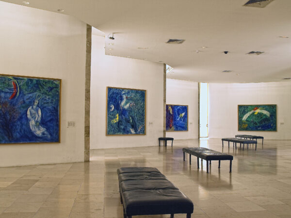 Beautiful Tourist Attractions in Nice - Musée National Marc Chagall Displays Artists Works