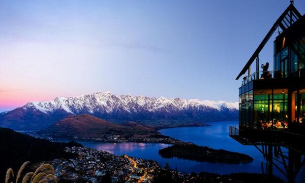 Nature in New Zealand - Queenstown Near Lake Wakatipu