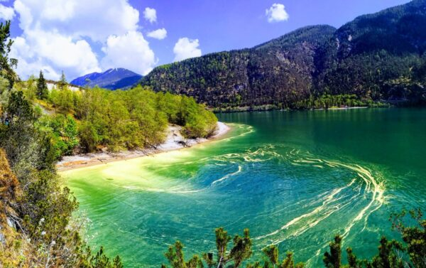 Most Beautiful Lakes in Austria - Lake is Located in Tyrol And Has Calm Waters in Summer