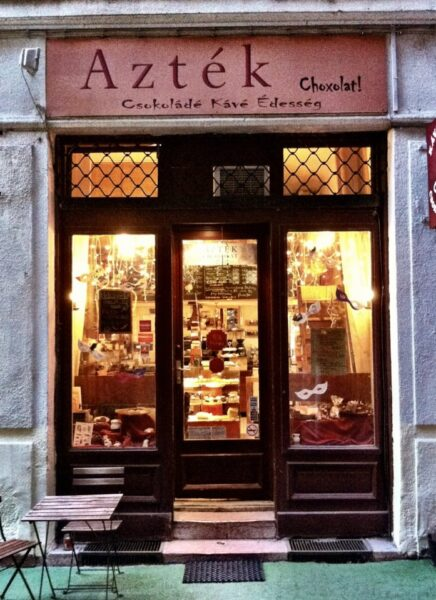 Top Coffee Shops in Budapest - Azték Choxolat! A Good Shop For Homemade Candies