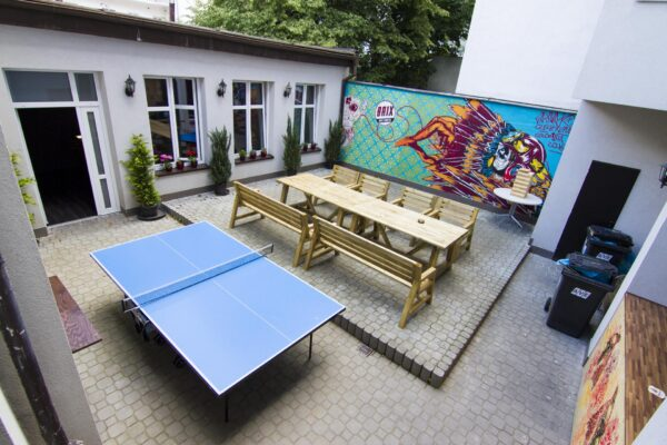 Budget Accommodations in Prague - Brix Hostel is Located Nearby Tram Close to City Center