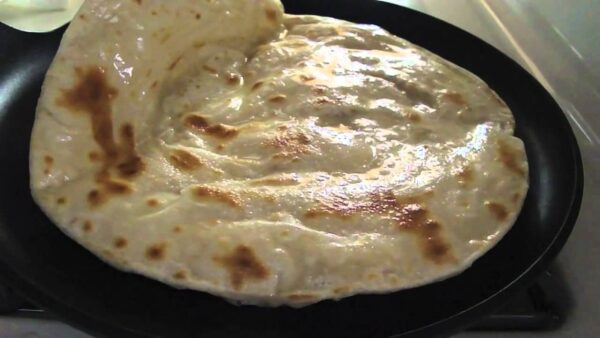 Most Delicious Food in Tanzania - Chapati Bread is Same As Indian Roti Bread