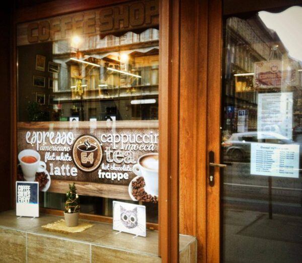 Top Coffee Shops in Budapest - Coffee Shop 64 A Good Place to Have Fresh Croissant