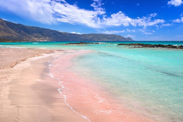Most Spectacular Pink Beaches in The World - Elafonisi Has Colorful Cliffs