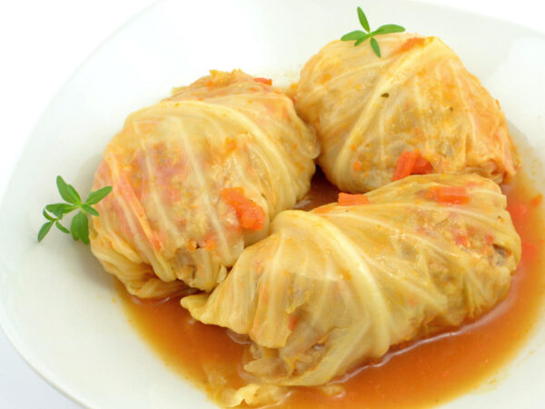 Most Delicious Food in Poland - Gołąbki is Cabbage Roll In Tomato Sauce