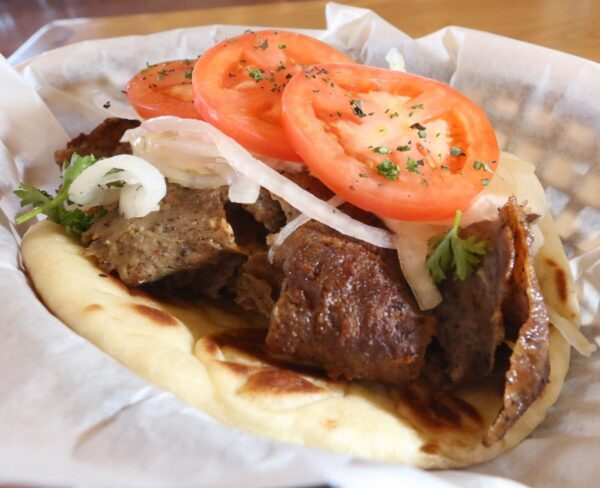 Cheap Food in Greece - Gyro is Similar to Turkish Doner And Budget Friendly