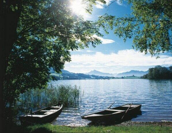 Most Beautiful Lakes in Austria - Irrsee Good For Water Sports in Summer
