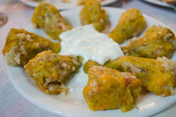 Most Delicious Greek Foods - Kolokythoanthoi A Dish Made From Stuffed Pumpkin Flower
