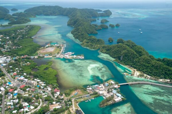Travel Tips Oceania - Koror is The Commercial And Economic Center of The Country