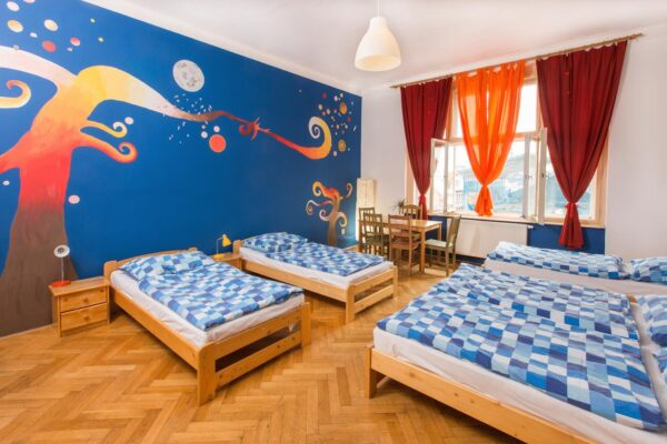 Budget Accommodations in Prague - Pension & Hostel Downtown is Located in The City center