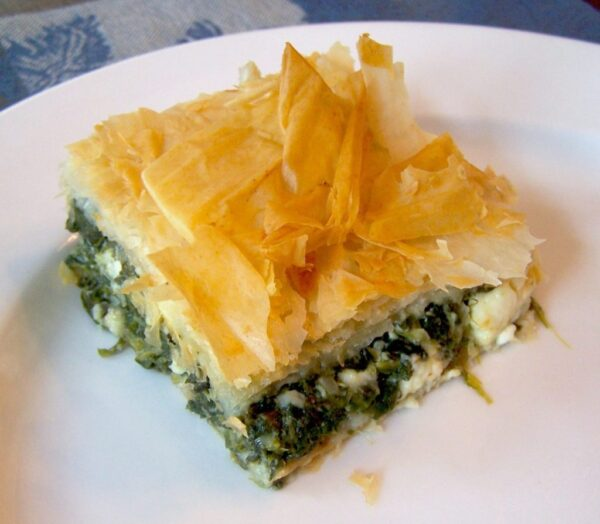 Most Delicious Greek Foods - Spanakopita A Spinach Pie With Feta Cheese
