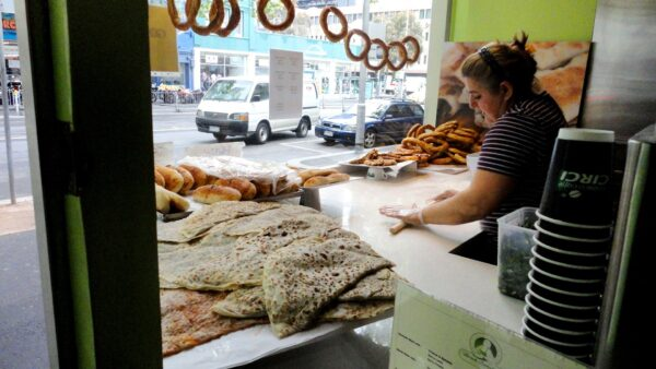 Travel Guide Australia - The Borek Bakehouse Has Lots of Turkish Bread Types