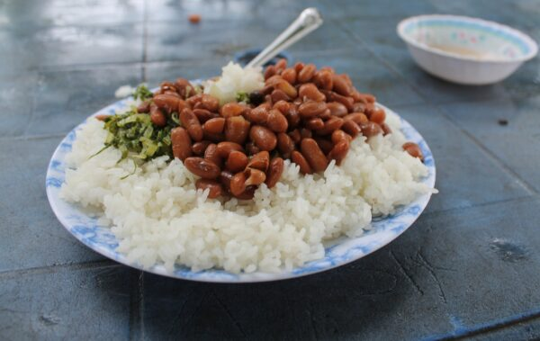 Most Delicious Food in Tanzania - Wali Na Maharage is Rice And Beans African Dish
