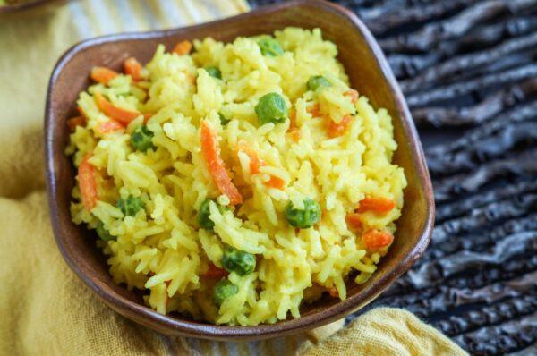 Most Delicious Food in Tanzania - Wali Wa Nazi Rice Dish With Coconut Milk