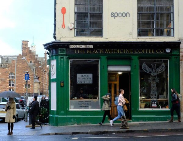 Travel Guide Scotland - Black Medicine Coffee Co Has Simplicity And Offers Delicious Coffee