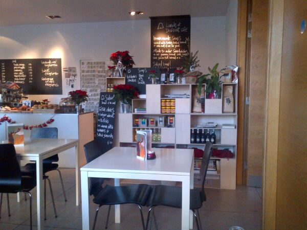 What to Do in Scotland - Dovecot Cafe is Part of The Dovecot Gallery Offering Coffee And Desserts