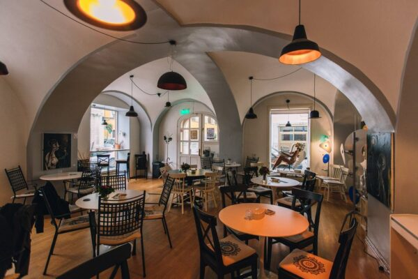 Top Cafes in Zagreb - Kavana Lav is Located Near Stone Gate And Has An Art Gallery