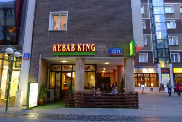Cheap Restaurants in Warsaw For Tourists - Kebab King Best Place to Get Kebab And Middle Eastern Food
