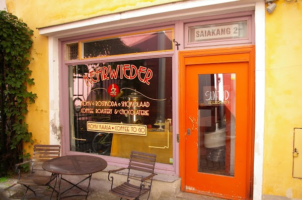 Where to Get Coffee in Tallinn - Kehrwieder Saiakang Chocolaterie Located in Main Square of The City