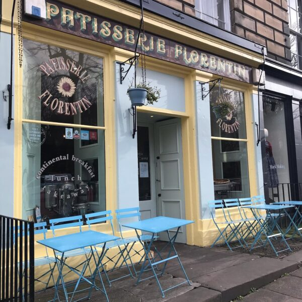 Travel Guide Scotland - Patisserie Florentin is One Of Most Popular Cafe in The City