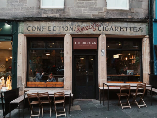 Top Coffee Shops in Edinburgh - The Milkman The Drinks Here Are Prepared With Milk And Coffee