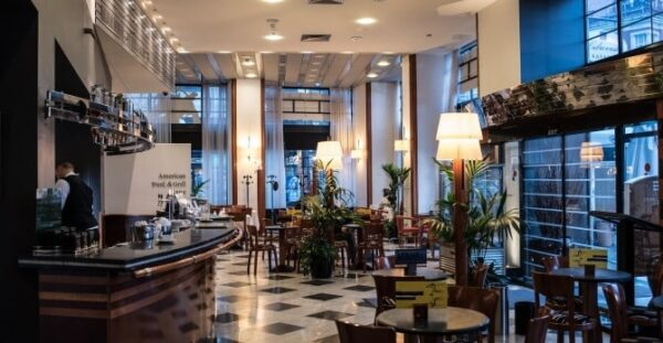 Best Coffee Shops And Cafes in Zagreb - Café in Hotel Dubrovnik One of The Best in The City