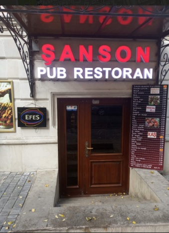 Travel Guide Azerbaijan - Şanson Restoran is Located Near Icheri Sheher Metro Station