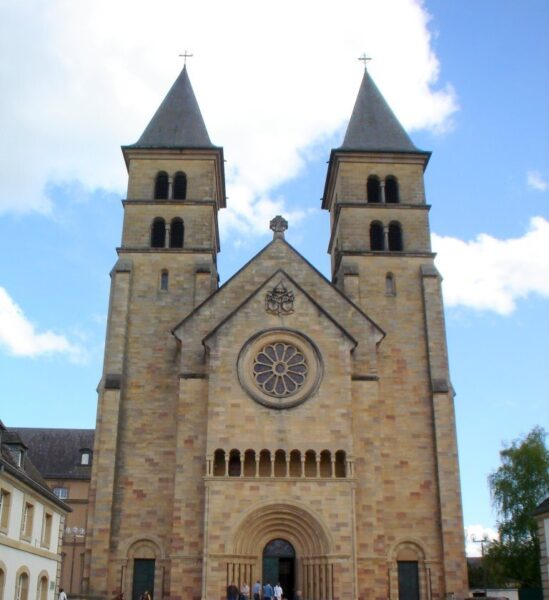 What to Do in Europe - Abbey of Echternach Houses Saint Willibrord Grave
