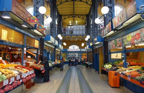 What To Do in Hungary - Central Market Hall is A Place to Buy Fresh Vegetable And Meat in The City