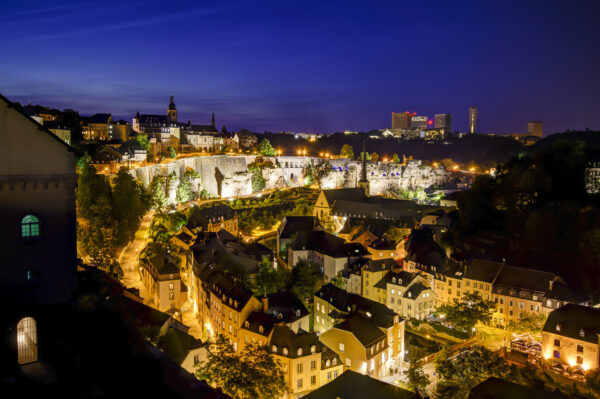 Best Attractions in Luxembourg - Chemin de la Corniche Known As Most Beautiful Balcony in Europe