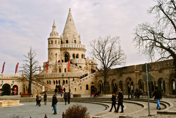 Best Tourist Attractions in Budapest - Fisherman's Bastion is A Beautiful Fortress Located in The Budai