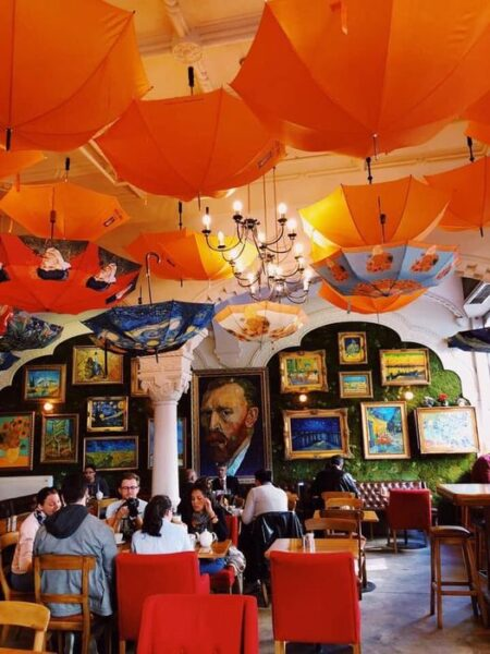 Travel Guide Romania - Grand Café Van Gogh Has A Dutch Vibe And is Located in A Beautiful Historical Building