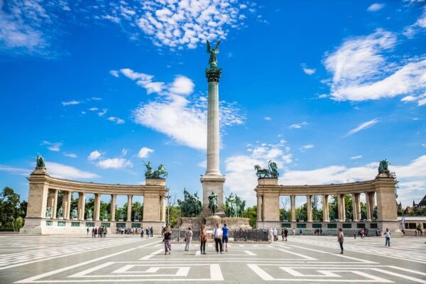 Attractions in Hungary - Heroes' Square A Large Square in Andrássy Street
