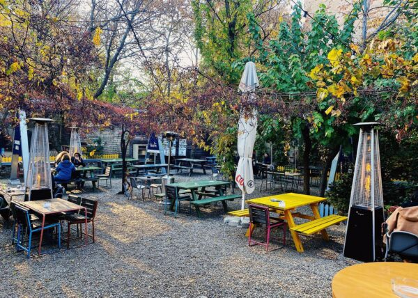 Top Cafes in Bucharest - J'ai Bistrot Has A good Sitting Spot In An Amazing Environment