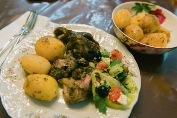 Most Delicious Dishes in Cyprus - Kleftiko is A Slow Cook Meat Dish With Baked Potato