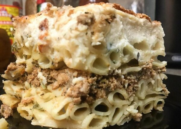 Most Delicious Dishes in Cyprus - Makaronia Tou Fournou Known As Pastitsio in Greece