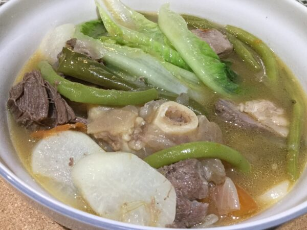 Philippines Travel Tips - Sinigang is A Soup With Tamarind And Vegetables