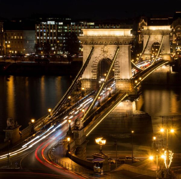 Best Tourist Attractions in Budapest - Széchenyi Chain Bridge A Beautiful Architecture