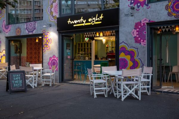 Top Cafes in Bucharest- Twenty Eight A Popular Spot With The Artistic Community