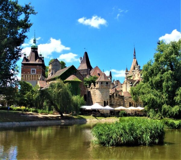 Best Tourist Attractions in Budapest - Vajdahunyad Castle A Stone Fortress With a Beautiful Setting