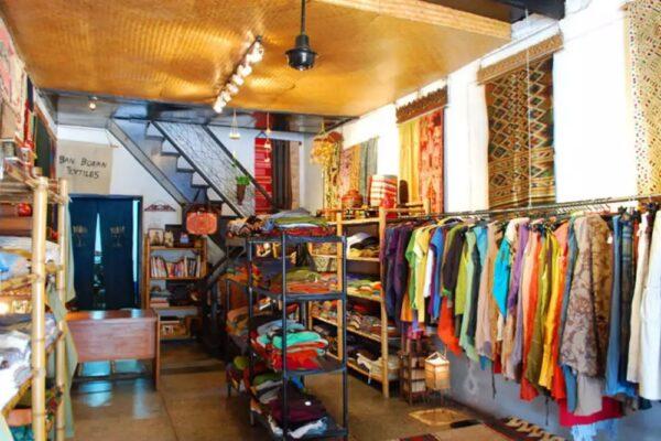 Thailand Shopping Guide - Ban Boran Textiles Sells Good Quality Fabrics Like Silk