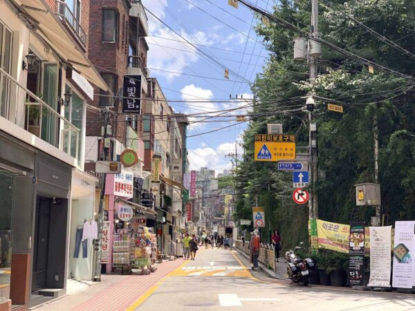Travel Guide South Korea - Hongdae A Suitable Place To Buy Fashion Products