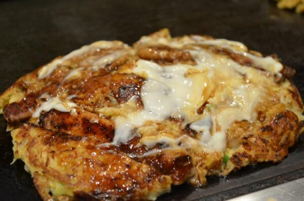 Japan Food Guide - Mizuno Offers Okonomiyaki And Yamaimo-yaki