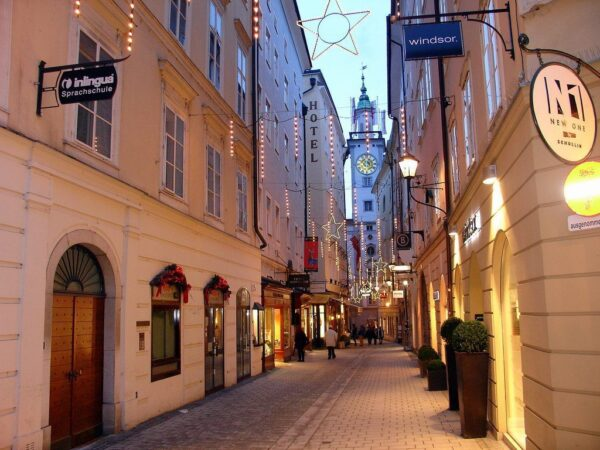 Austria Travel Tips - Old Town (The Altstadt) is Where to Find Old Courtyards And Galleries