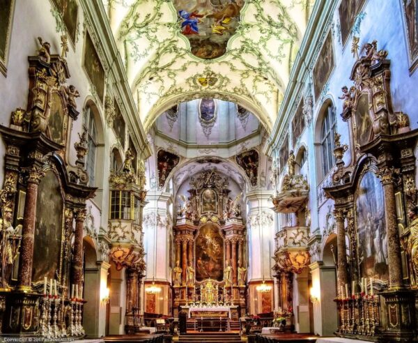 Austria Travel Tips - St Peter's Abbey Built by St. Rupert And Has a Nice Architecture Design