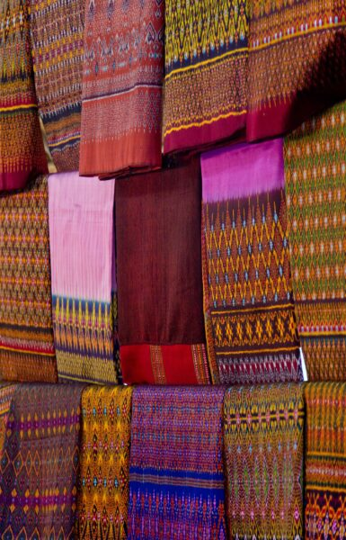 Best Thailand Souvenirs to Buy in Bangkok - Thai Silk is The Most Popular Fabric For Thai Clothing
