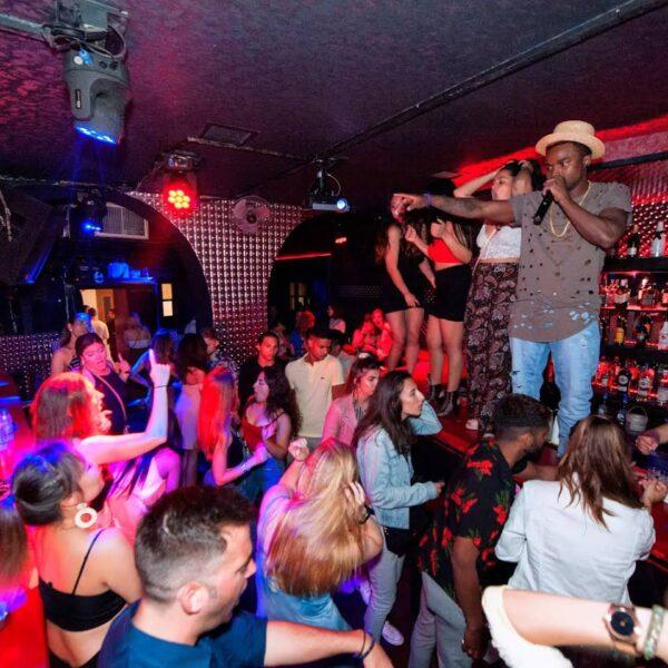 Clubbing in Mykonos - Addiction Club Mykonos Has Good Drinks And A Nice Dance Stage