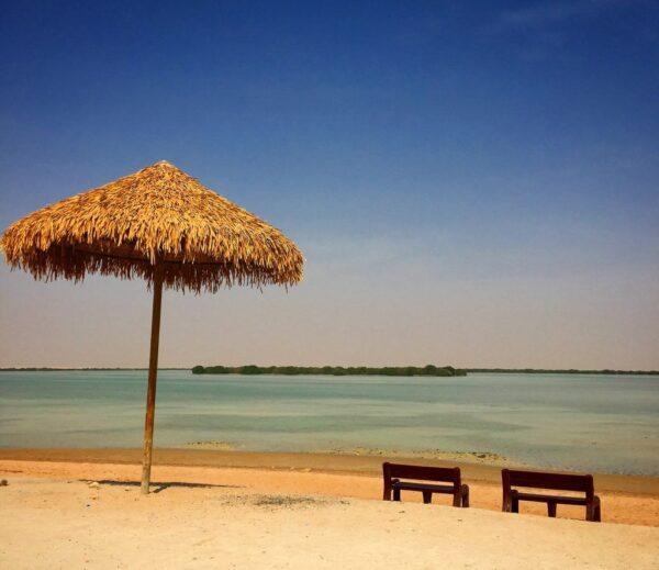 Best Qatar Tourist Places - Al Thakeera Beach HAs Same Sand Formation With Dukhan Beach